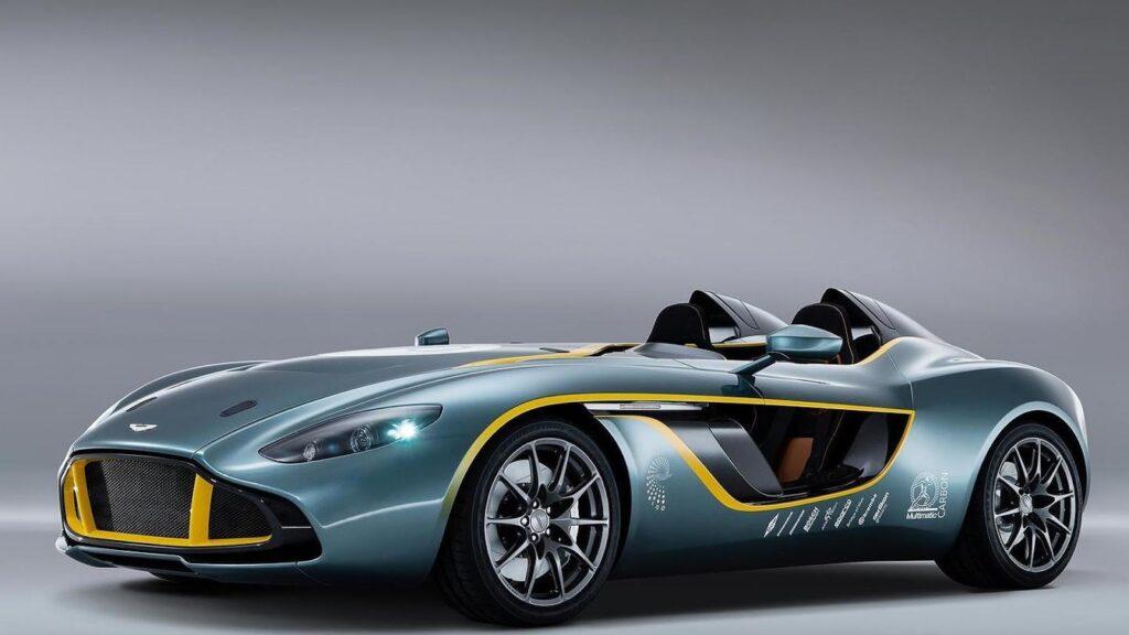 Aston Martin CC100, вид спереди