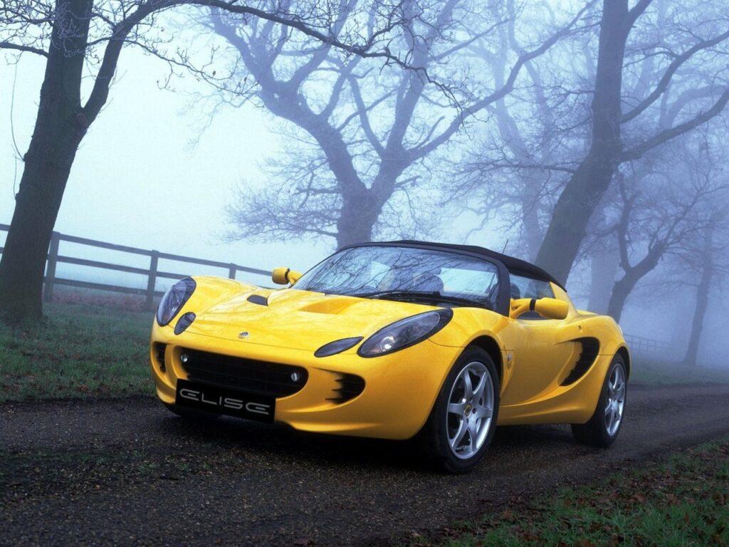 Lotus Elise, вид спереди