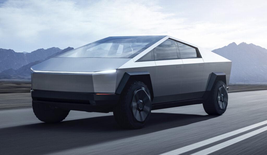 Новая модель Tesla Cybertruck