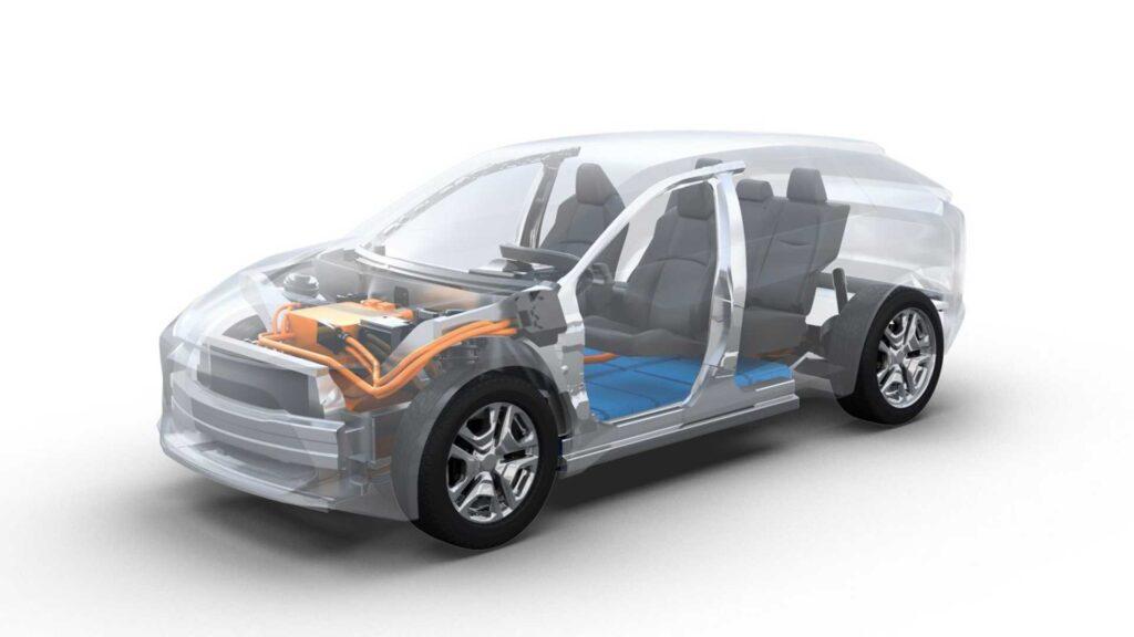Недавно как раз Toyota поделилась информацией о разработке принципиально новой платформы для постройки электрокаров под названием e-TNGA
