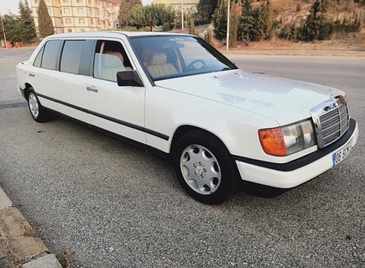 Длинный Mercedes-Benz, но не лимузин