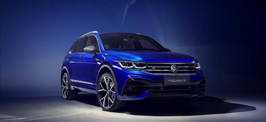 Volkswagen Tiguan в новых комплектациях стал доступен в РФ