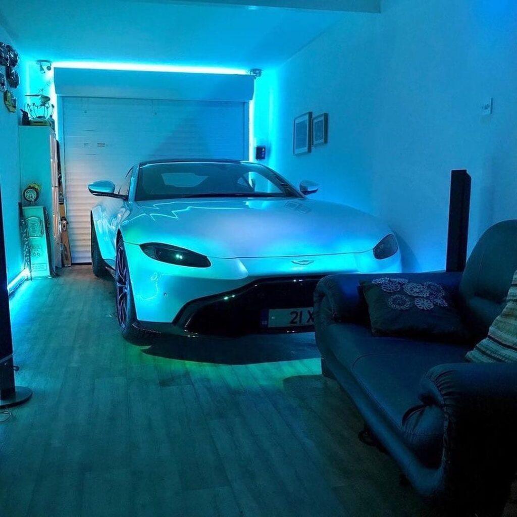 Как выглядит гараж-мечта каждого автомобилиста