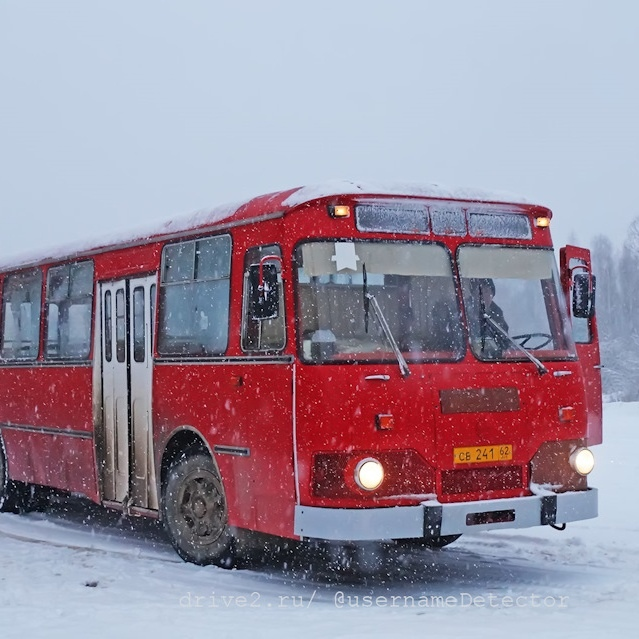 ЛиАЗ-677: настоящая машина времени