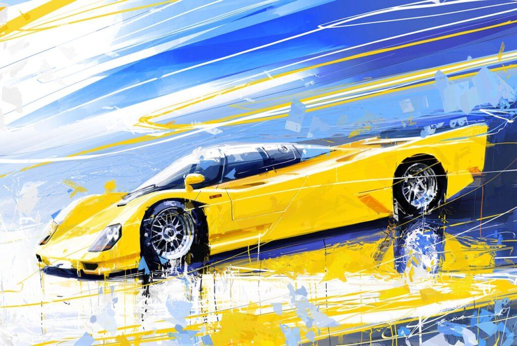 Автомобильное арт-искусство