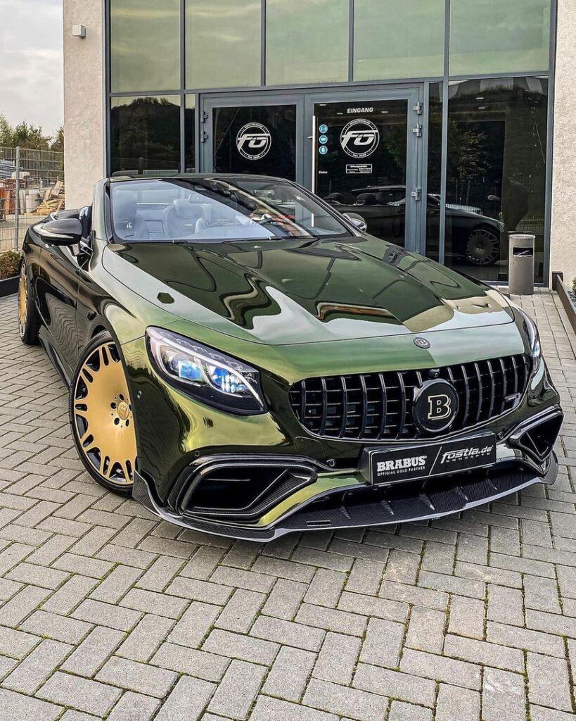"""Mercedes-Benz S-class BRABUS S63 кабриолет - один из самых роскошных """"мерсов"""" современности"""