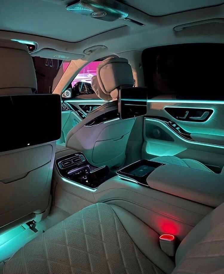 Эстетика салона нового Mercedes-Benz w223