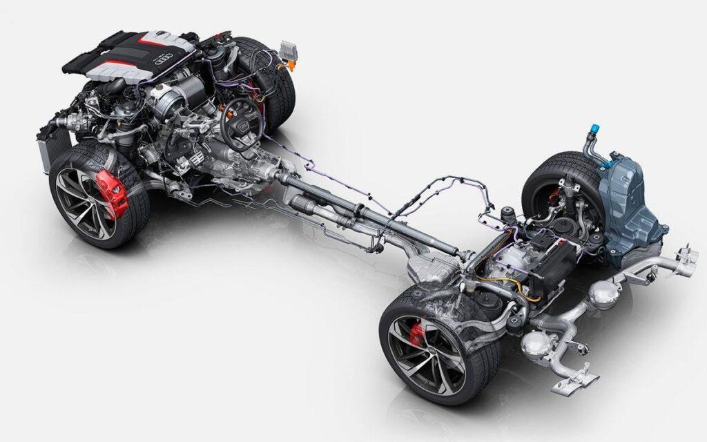 Шасси Audi Q9