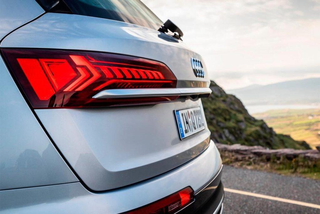 Audi Q9 вид сзади