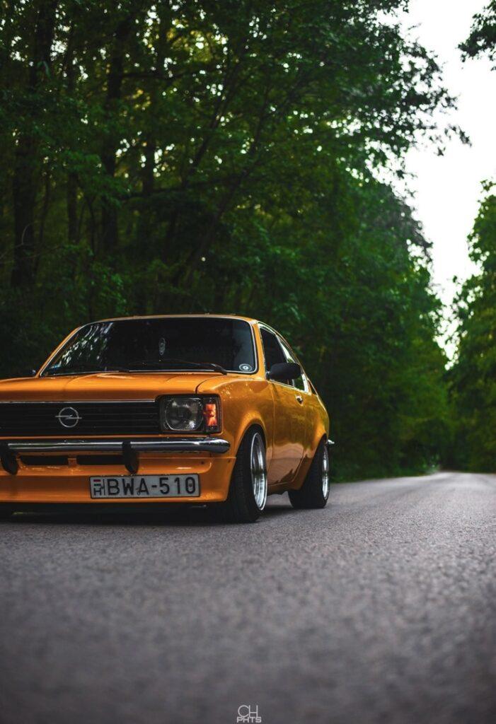 Opel Kadett C Coupe - народный автомобиль