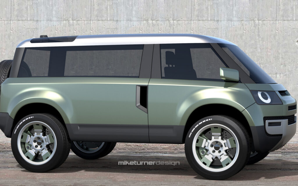 УАЗ в духе Land Rover