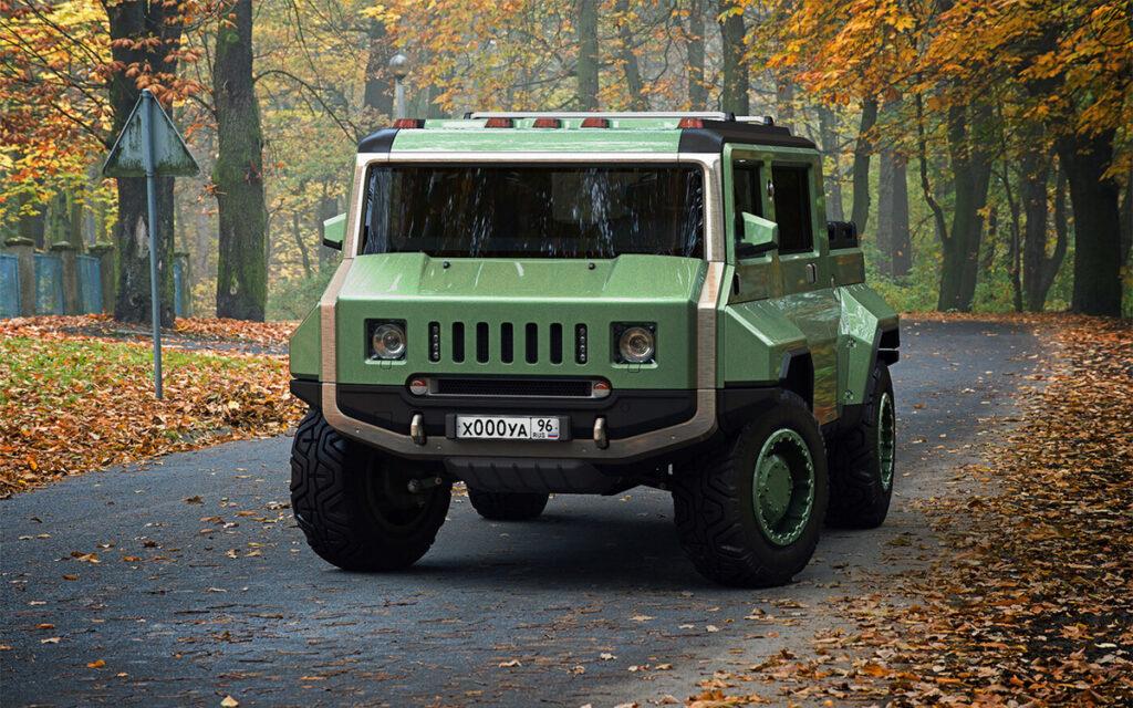 УАЗ в стиле Hummer