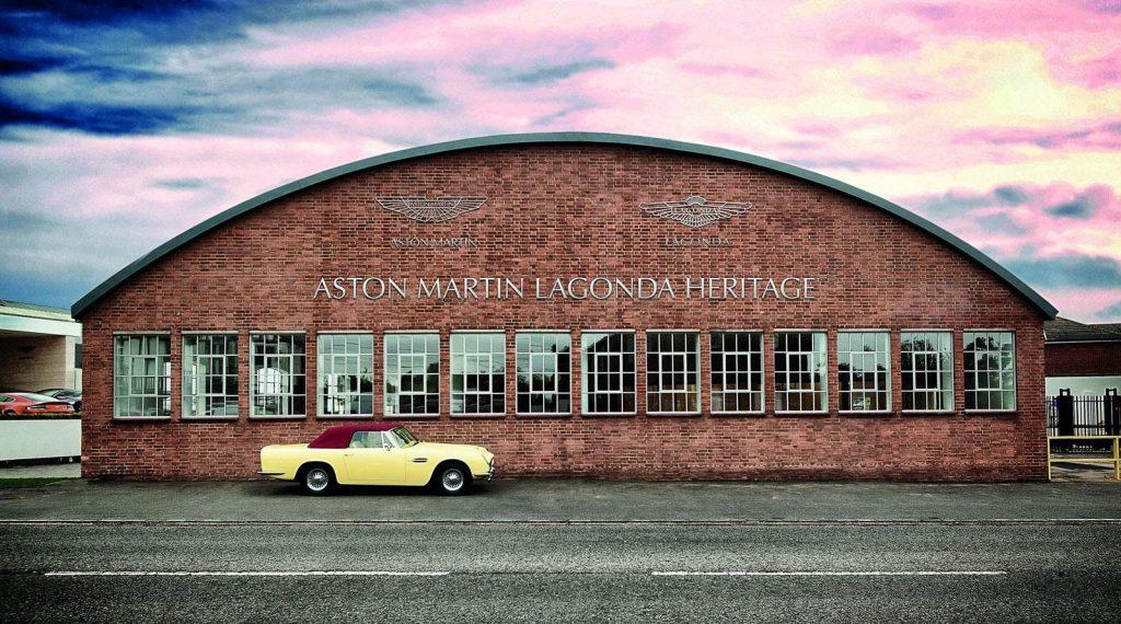 Штаб-квартира Aston Martin Works