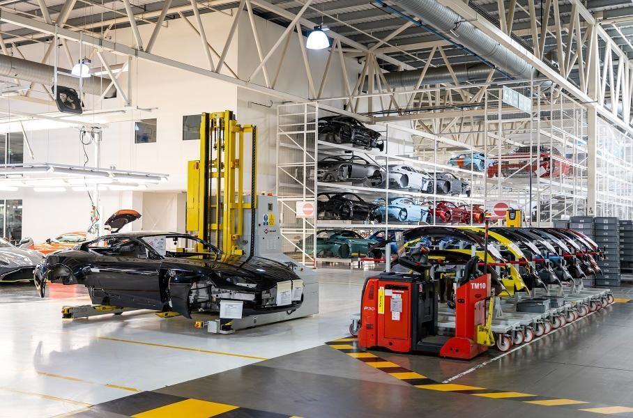 Завод Aston Martin в Гейдоне