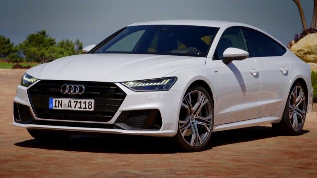 Audi A7, вид спереди