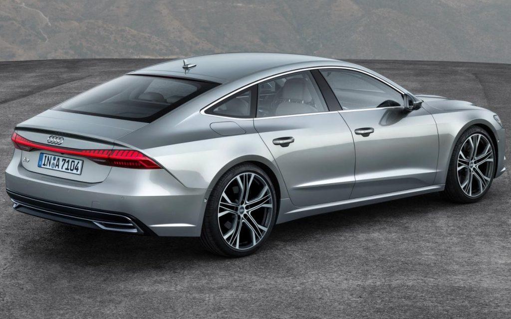 Audi A7, вид сзади