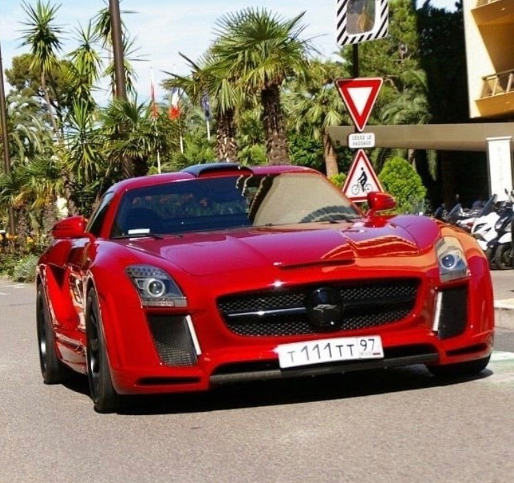 "Mercedes-Benz SLS AMG Fab Design ""Gullstream"""