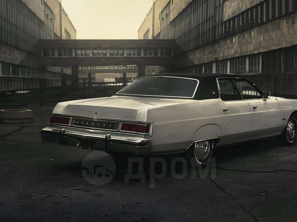 Mercury Cougar 1977 года за 1.65 млн рублей - в продаже в Москве