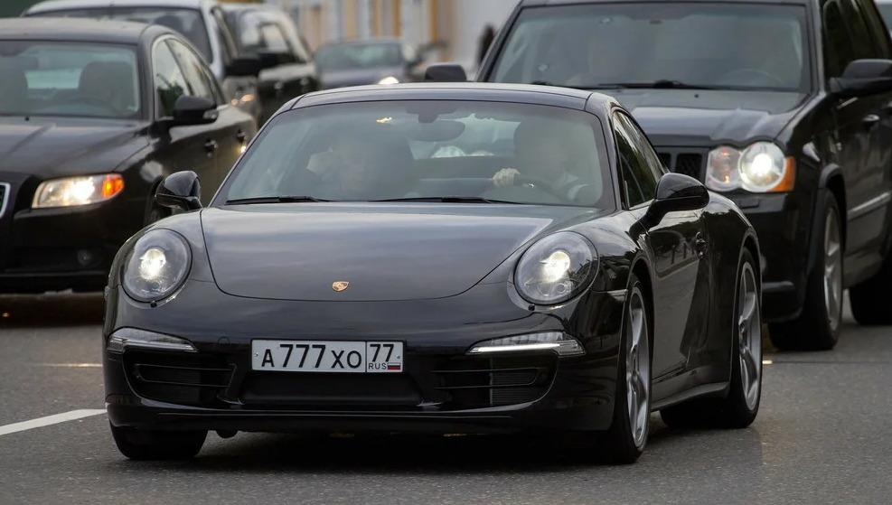 Porsche 911 Олега Газманова