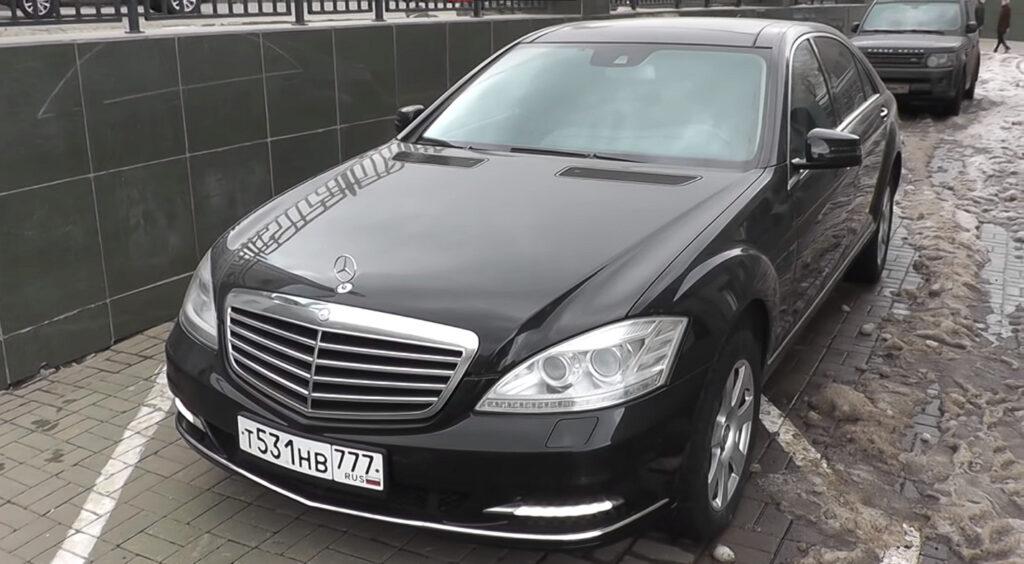 Mercedes-Benz из видео