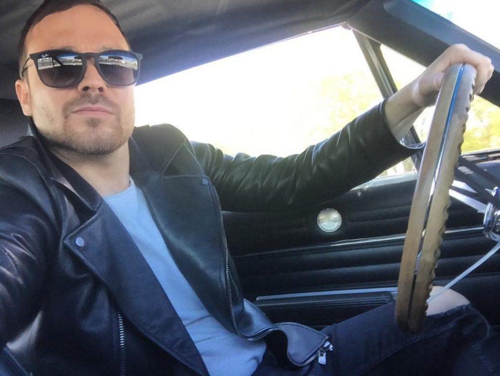 Алексей Чадов за рулем