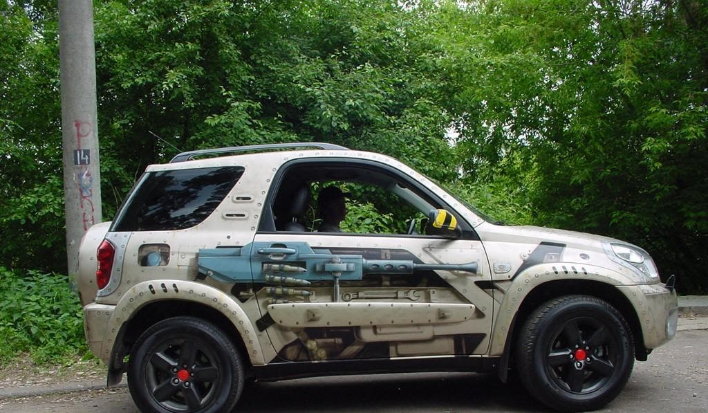 Toyota Rav-4 Олега Газманова