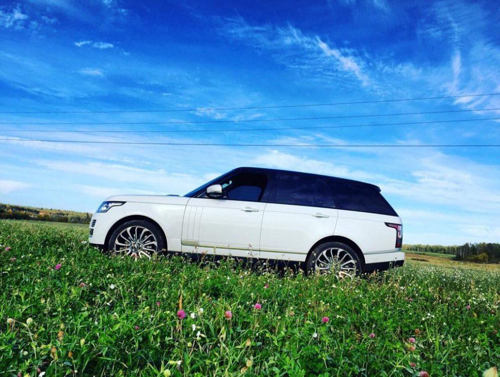 Range Rover Андрея Чадова