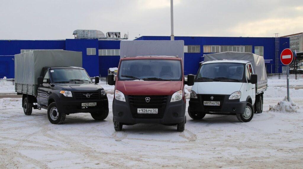 Российские грузовики, попадающие в категорию В