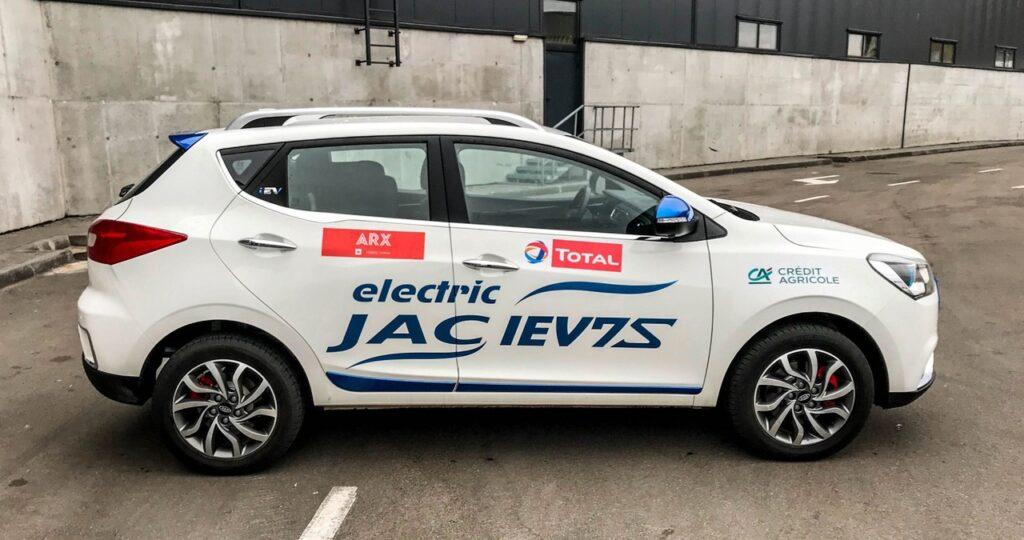 Один из самых доступных электрокаров в РФ на 2021 год - JAC iEV7S