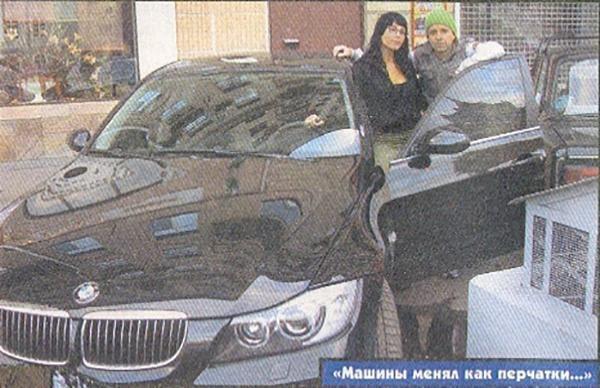 Андрей Губин со своим BMW G30
