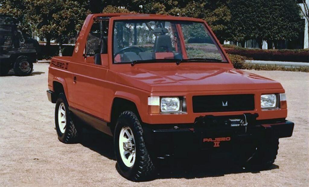 Прототип легенды – концепт 1979 г. на базе Mitsubishi Jeep