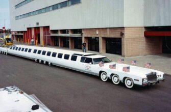 Подборка самых больших авто в мире среди разных классов