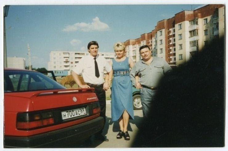 Михаил Круг со своим Volkswagen Passat