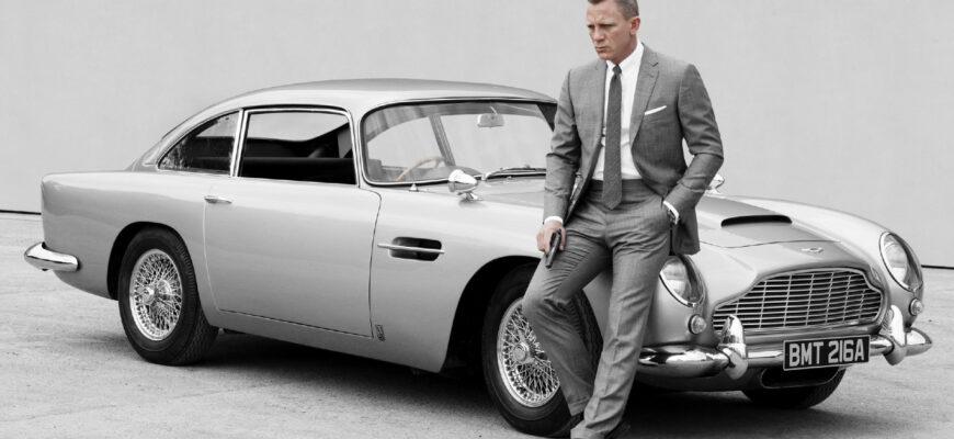 Автомобили Джеймса Бонда - на чем передвигался агент 007