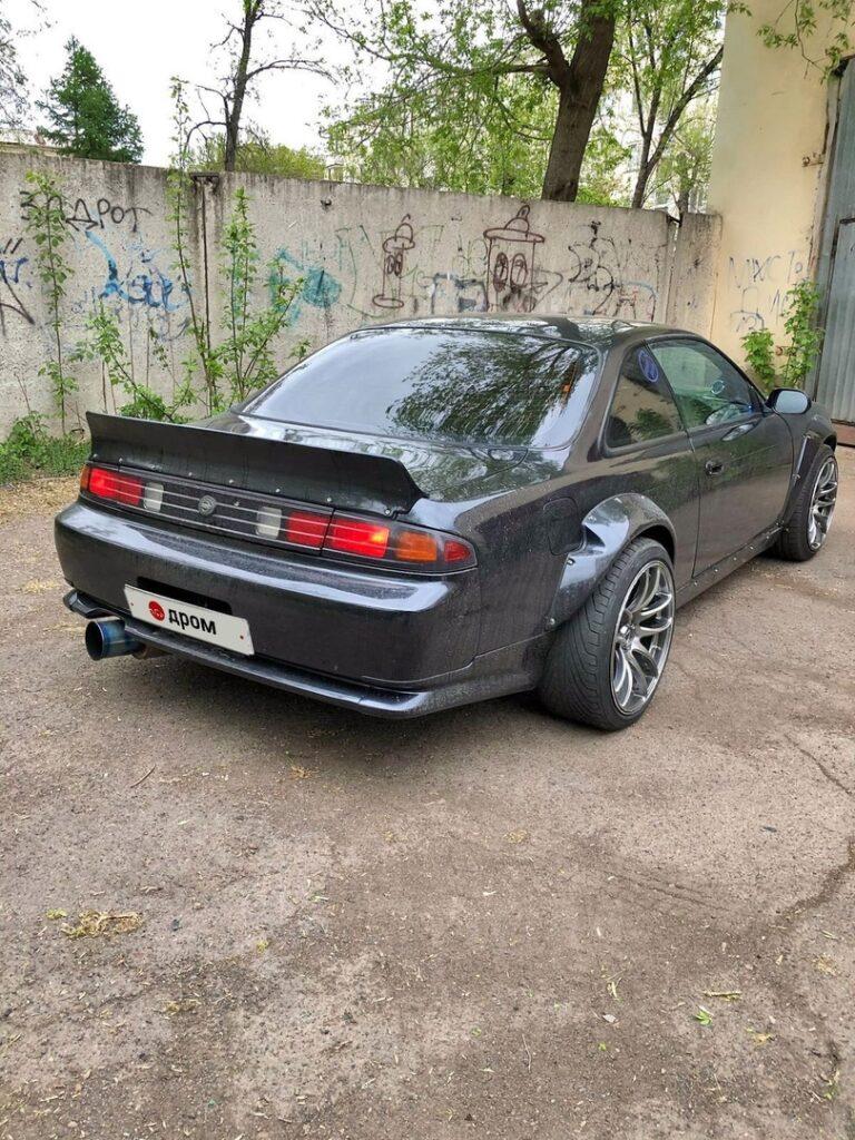 Так выглядит Nissan Silvia 1994 года за 1.5 млн рублей