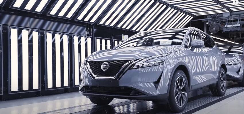 Видео: производственный процесс нового Nissan QASHQAI 2022