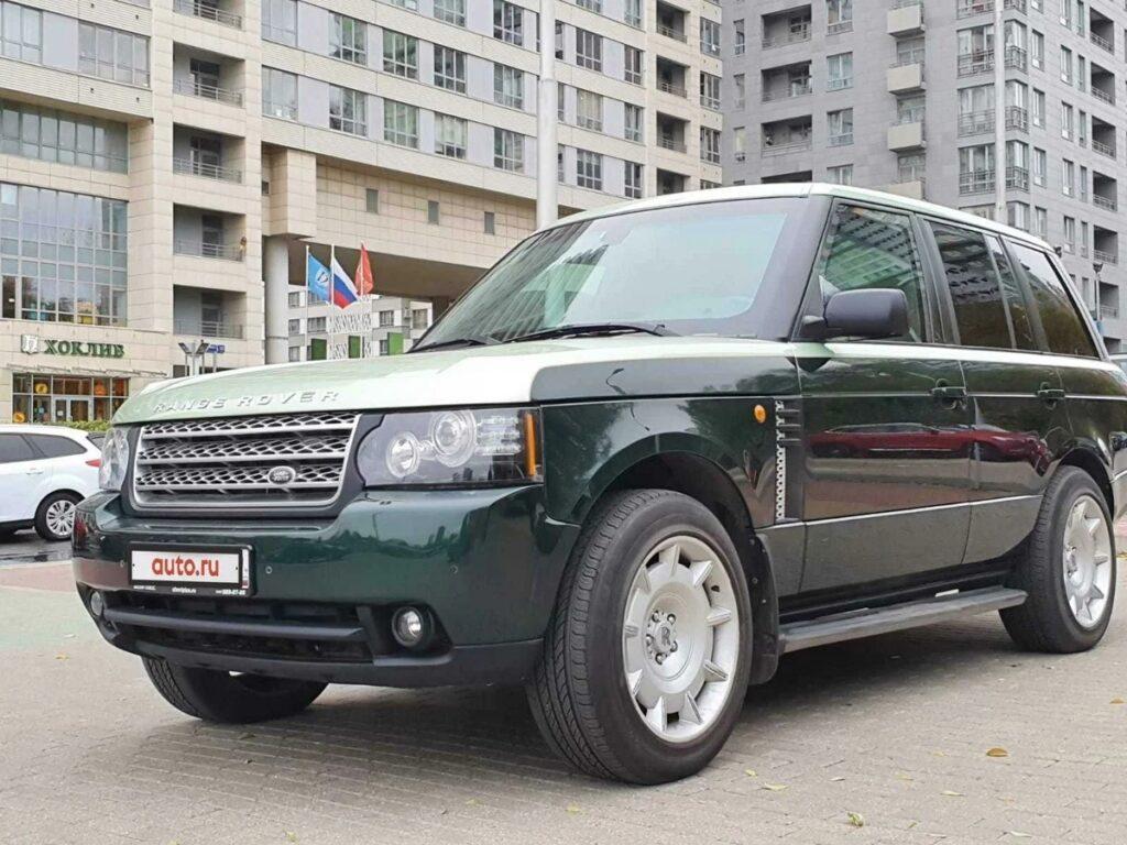 "В продаже: Land Rover Range Rover III или ""волшебник изумрудного города"""
