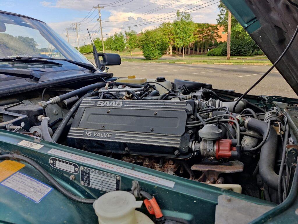 SAAB 900 Cabrio Turbo - классный кабриолет всего за 240 т.р.