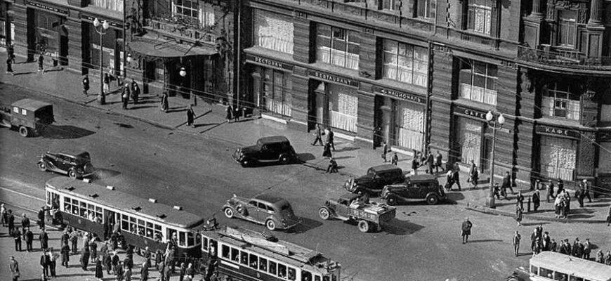Какие машины можно было встретить на улицах довоенной Москвы