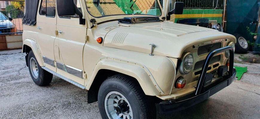 Редкий внедорожник: дизельный УАЗ-469 фабричной сборки