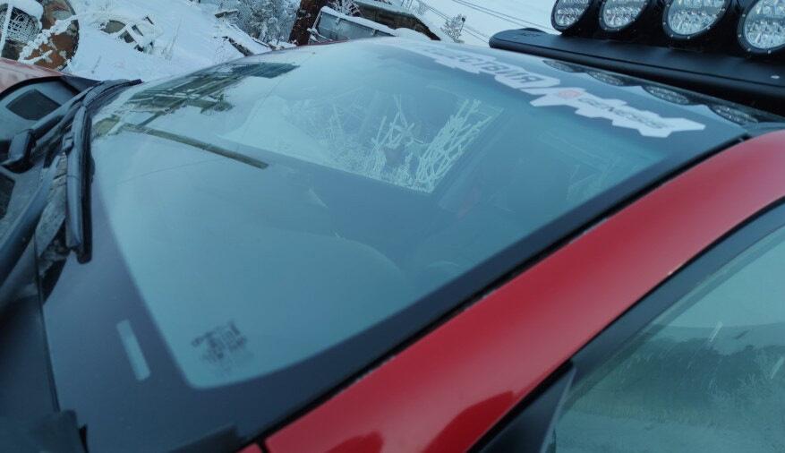 Двойное лобовое стекло предотвратит потери тепла