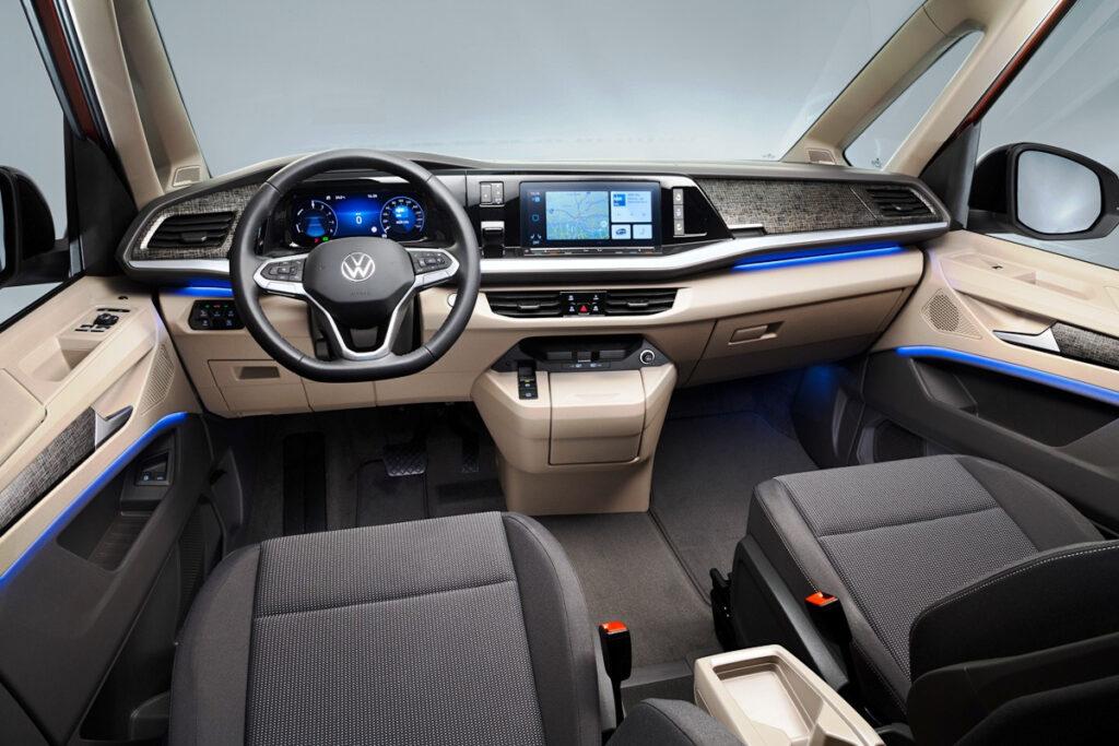Салон Volkswagen Multivan T7