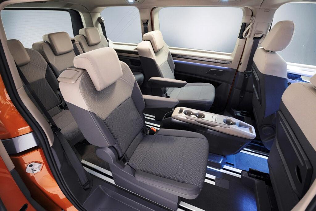 Комфортные места для пассажиров