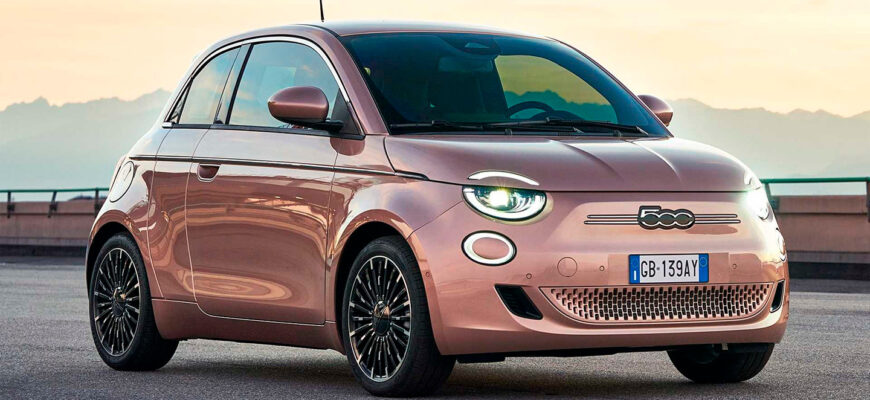 Fiat 500e и амбициозные планы «электрификации» итальянской компании