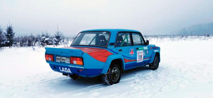 Автомобиль для гонок и дрифта: легендарная Lada VFTS