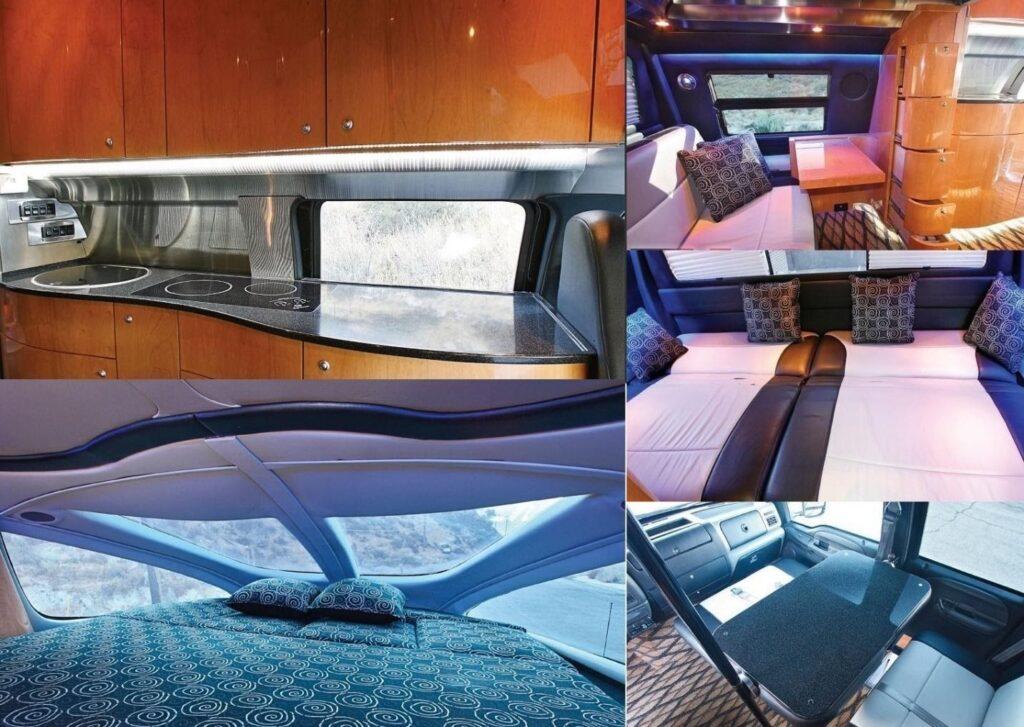 Салон Ford F-750 Dunkel Luxury