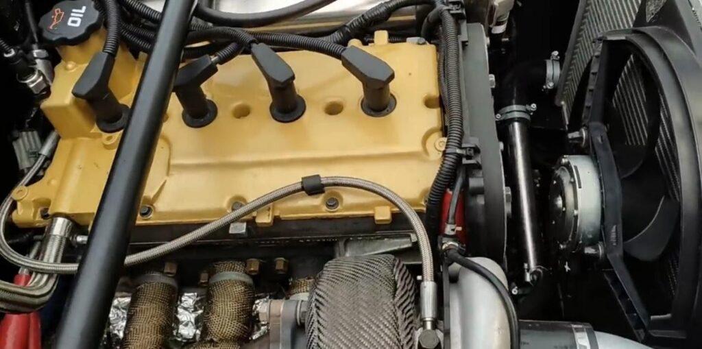 Модернизированный силовой агрегат