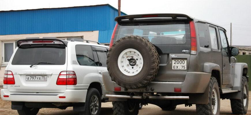 Больше, чем Land Cruiser, удобнее чем Hummer - самодельный внедорожник из России