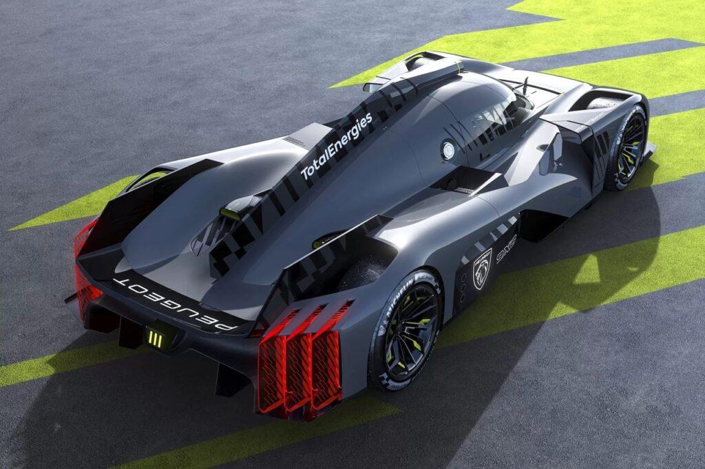 Peugeot 9X8 - полноприводный гибрид созданный для гонок