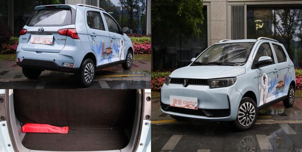 Внешний вид и багажное отделение Lingbao Coco